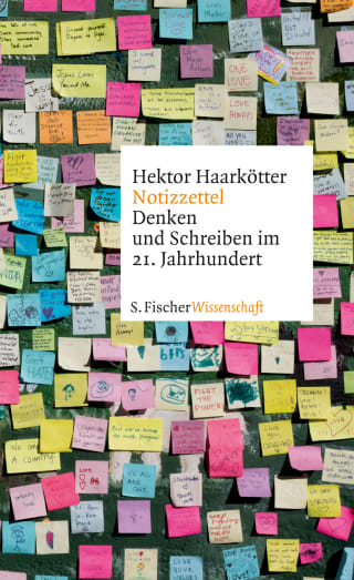 Cover des Buches: Notizzettel von Hektor Haarkötter
