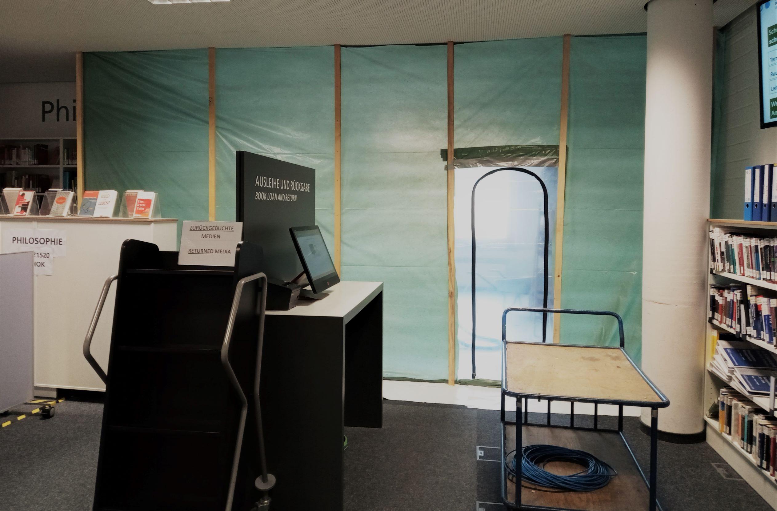 Baustelle Technikbereich Bibliothek H-BRS Campus Sankt Augustin